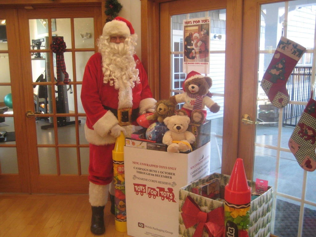 Toys for Tots at Hudson Preserve